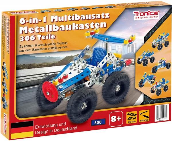 Tronico-Metallbaukasten-Starter-Set-Einsteiger-Multibaukasten-6in1-Mint-Steam-Schule-Werkunterricht-Bauen-mit-Werkzeug-Konstruktionsspielzeug-Modellbau-rcee-09770A
