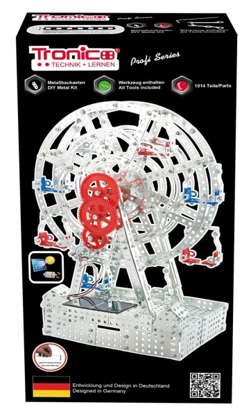 Metallbaukasten-Riesenrad-karussell-Solarzelle-Motor-Tronico-10132