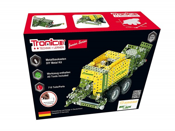 metallbaukasten-traktor-anhänger-großpackenpresse-krone-bigpack-highspeed-tronico-10052