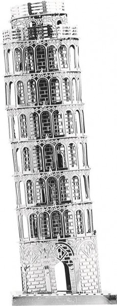 3D-Metallbausatz-Metal-Metall-modellbau-architektur-Schiefer-Turm-Pisa-Tronico-30301