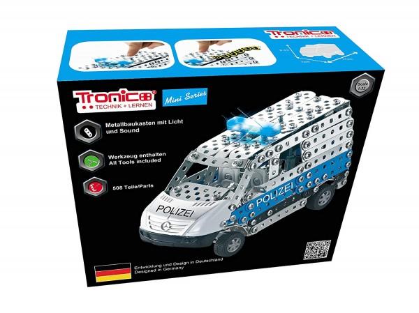 Metallbaukasten-polizei-auto-transporter-van-3d-puzzle-tronico-10041