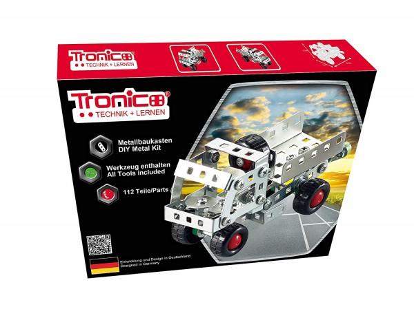Tronico-Metallbaukasten-LKW-Kipper-Mint-Schule-Starter-Einsteiger-Bausatz-10263