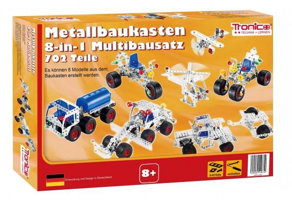 Metallbaukasten-8in1-Multibaukasten-Starter-Einsteiger-mint-Grundschule-Werkunterricht-Kinder-8-jahre-tronico-10305