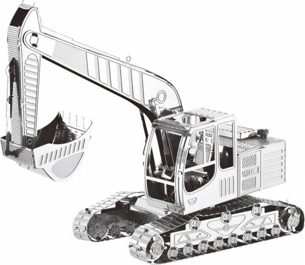 3d-puzzle-metallbausatz-modellbau-bagger-raupenbagger-tronico