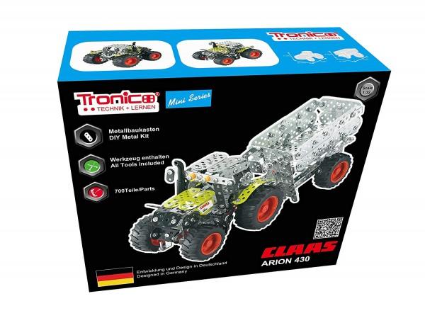 Tronico-Metallbaukasten-Traktor-Claas-Arion-430-Alter-ab-12-Jahren